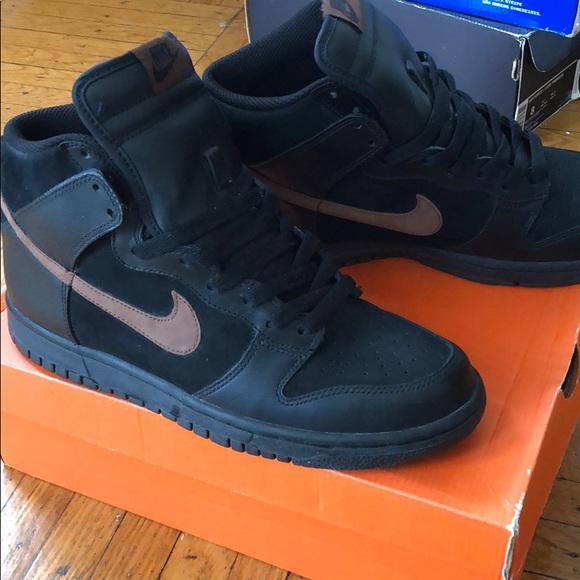 8ed13b9d Nike Dunk High sportswear blk/rust men's 8.5
